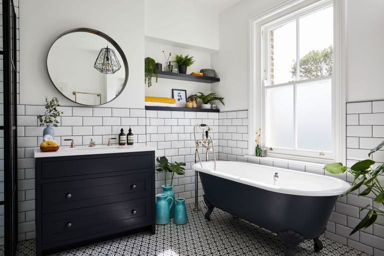 Black bathrooms: 18 ideas to add drama to your space