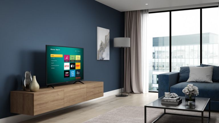 """best 40 inch tv: Hisense Roku 50"""" A7200 Smart 4K HDR LED Freeview TV"""