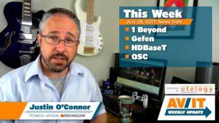 [VIDEO] AV/IT Weekly Update: 1 Beyond, Gefen, HDBaseT, QSC
