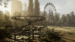 In play screenshot of Chernobylite game