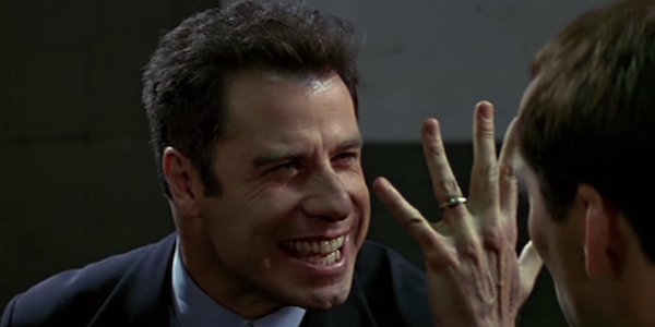 John Travolta in Face/Off