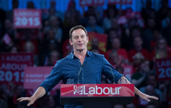 Jason Isaacs hosted a Labour rally in London before the bank holiday weekend