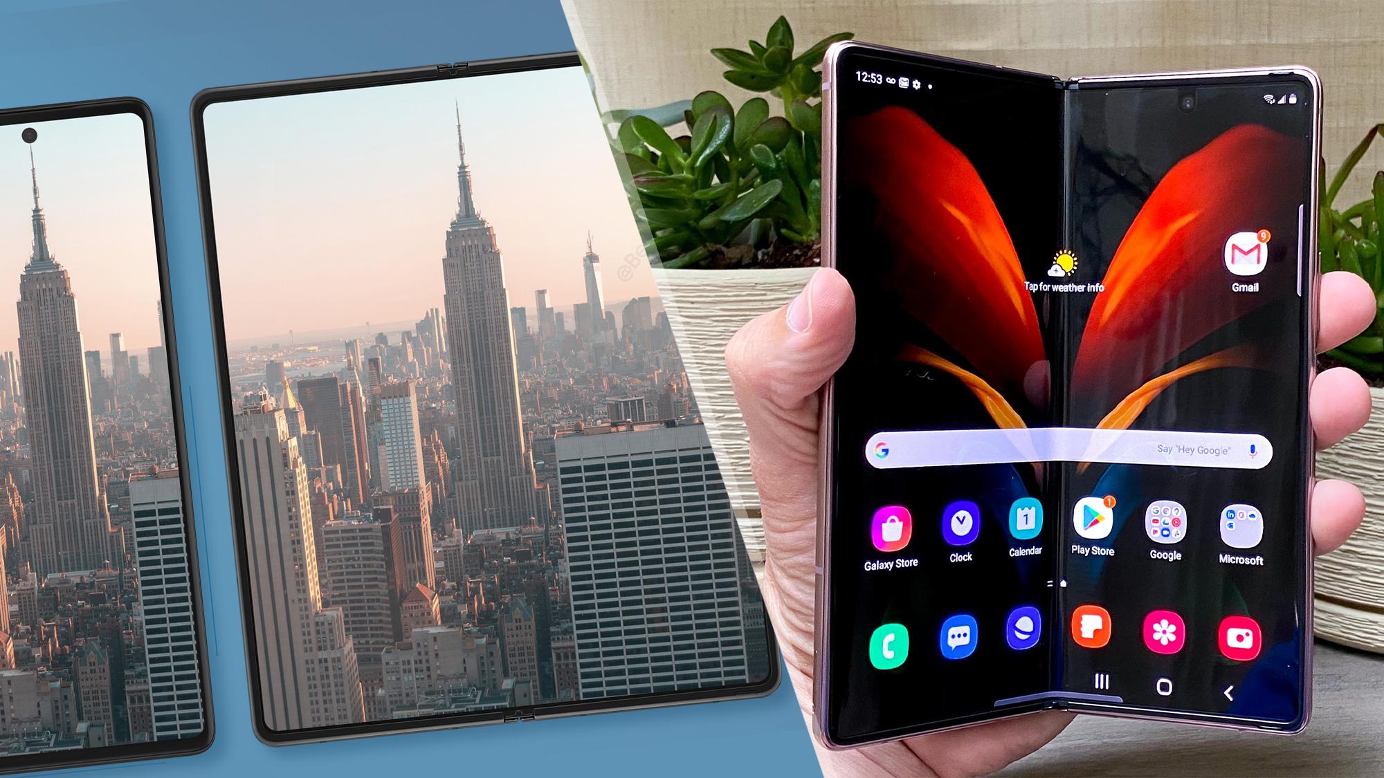 Samsung Galaxy Z Fold 2 vs Samsung Galaxy Z Fold 3