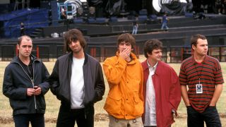 Oasis in August 1996