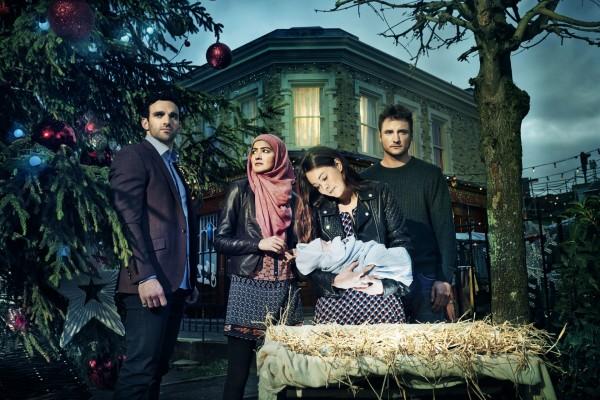 The happy nativity scene (BBC)