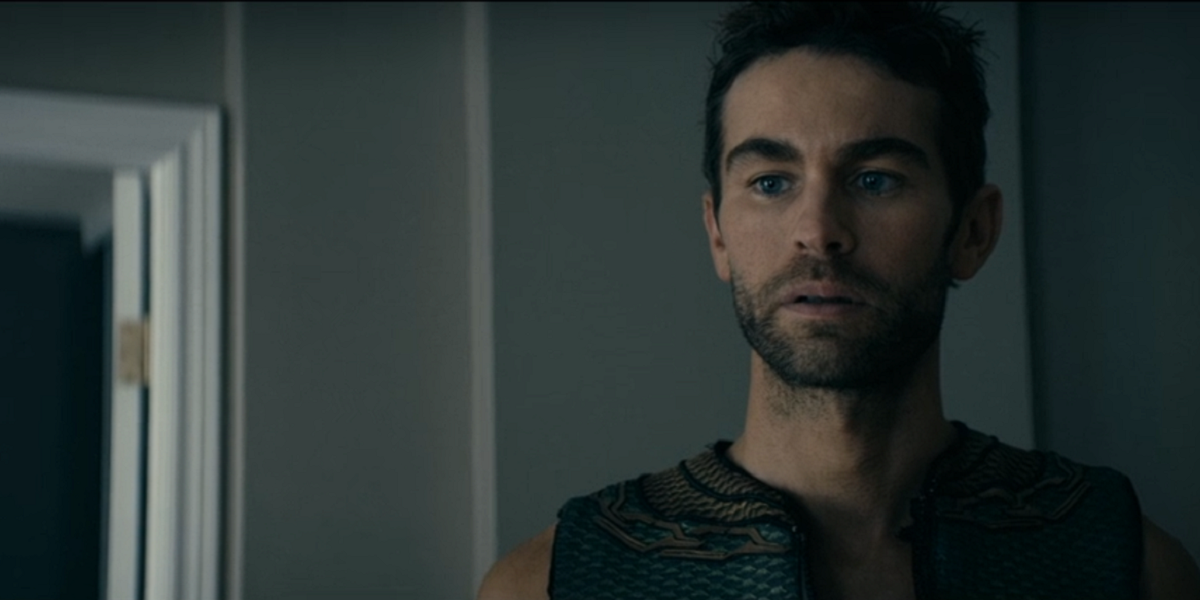 Chace Crawford as The Deep in The Boys