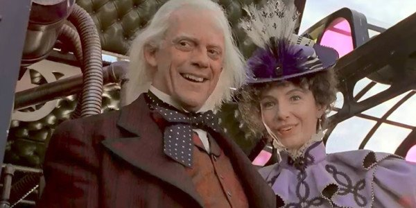 Doc Brown and Clara from BTTF 3