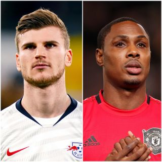 Timo Werner and Odio Ighalo