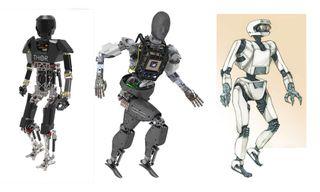 DARPA Robotics Challenge Robots