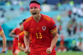 Kieffer Moore, Wales vs Switzerland Euro 2020