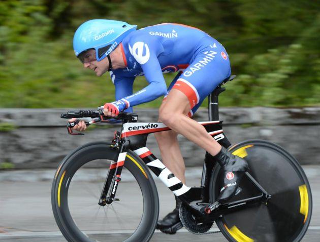 Dave Zabriskie, Tour de Romandie 2012, prologue