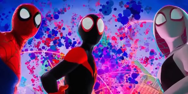 Spiderman into the spiderverse movie