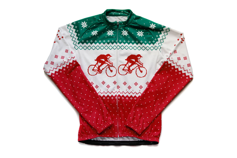 Hackney GT s  Christmas jumper  cycling jacket - Cycling Weekly acd7434d6