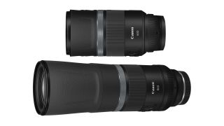Canon RF 800mm f/11 and Canon RF 600mm f/11 lenses
