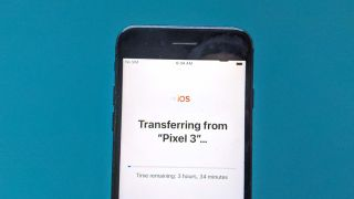 How to move your data from an Android phone to an iPhone