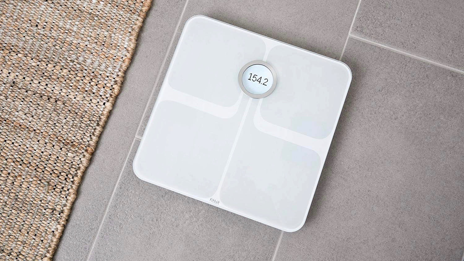 Fitbit Aria 2 Is A Smart Bathroom Scale