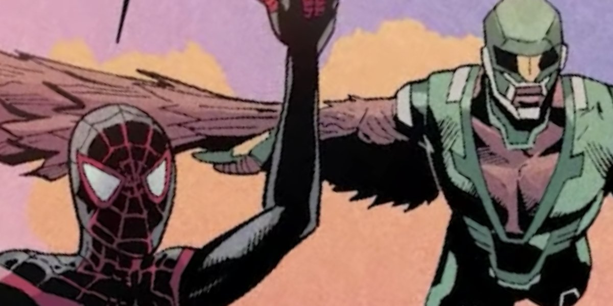 Miles Morales and Joaquin Torres on the Champions