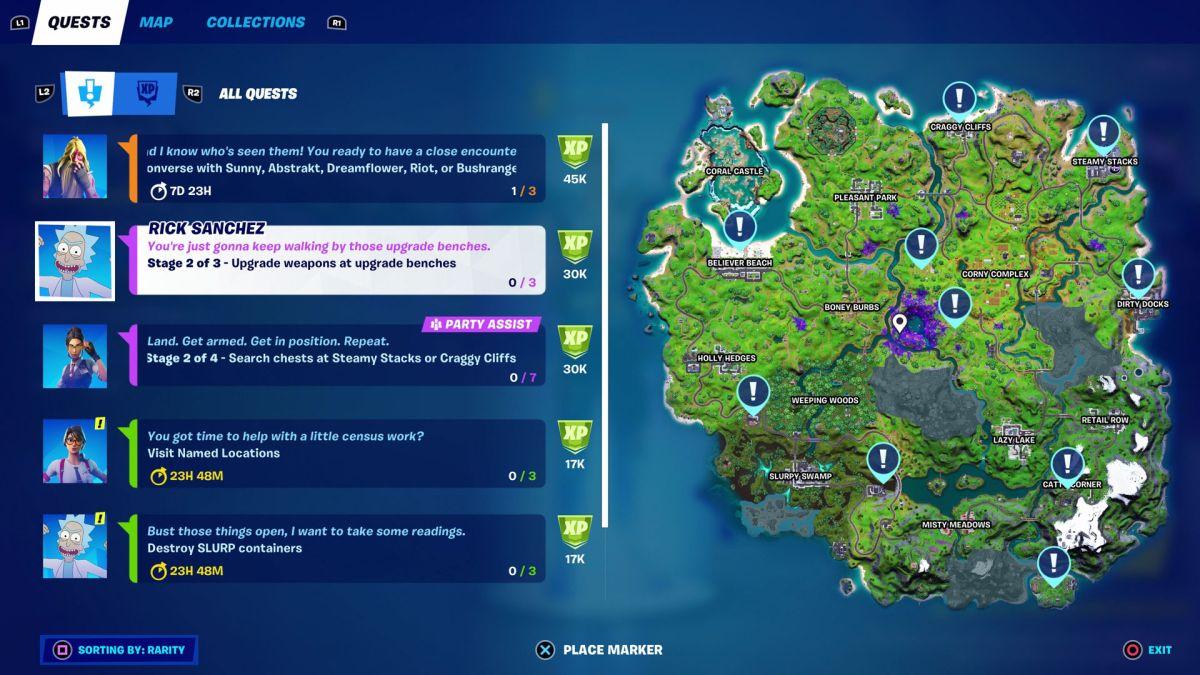 Vending Machines Fortnite Season 6 Fortnite Week 1 Quests Guide Plus Week 1 Legendary Quests Gamesradar