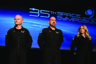 Virgin Galactic Trio, Including the 1st Woman, Receives Their Commercial Astronaut Wings