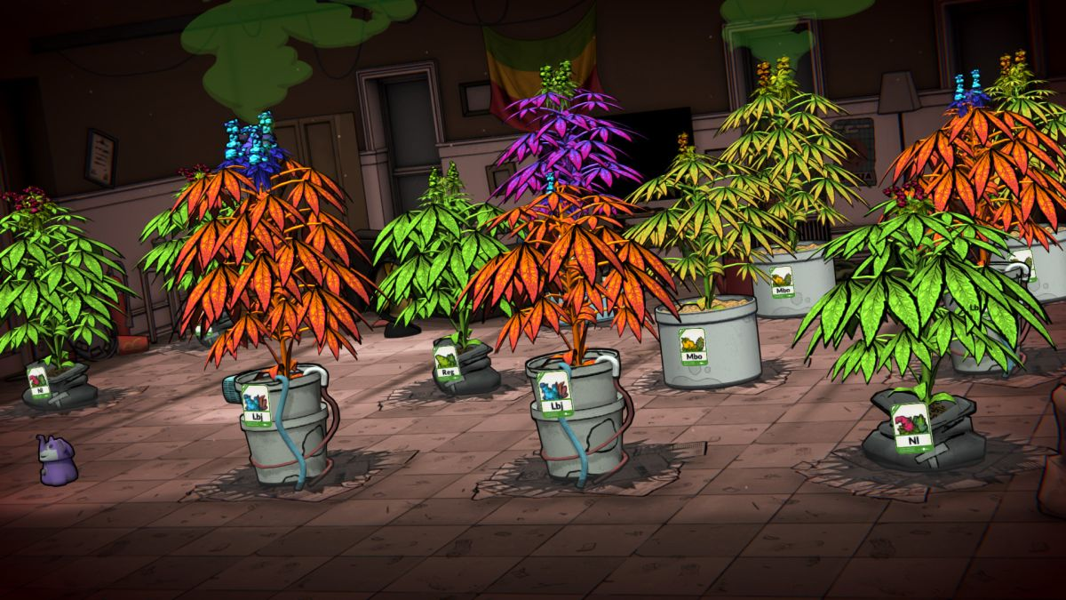 A new Weedcraft Inc trailer showcases 4:20 of gameplay