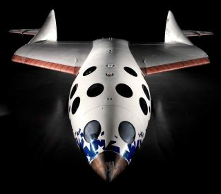 SpaceShipOne on display