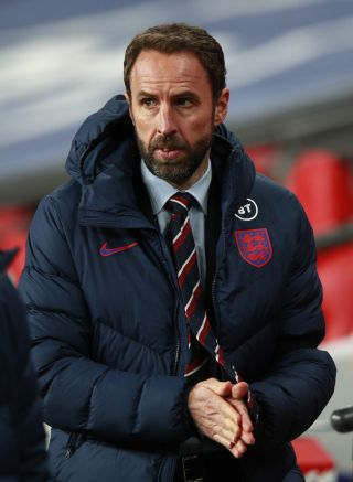 Gareth Southgate will not be able to work with his players until March.