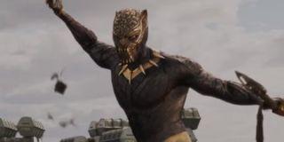 Killmonger in his suit