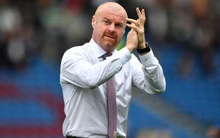 Burnley manager Sean Dyche   Burnley v Leeds live stream