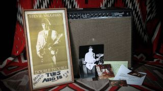 Stevie Ray Vaughan's Vibroverb amp is up for sale at Rumble Seat Music