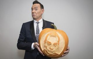 Craig Revel Horwood pumpkin