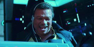 Lando in The Rise of Skywalker