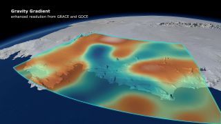 West Antarctica gravity
