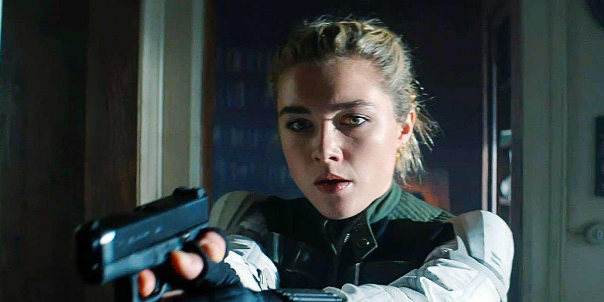 Black Widow's Florence Pugh Shares Amazing Story About The Time She Thought Her Dad Was Faking Being Pals With Renee Zellweger