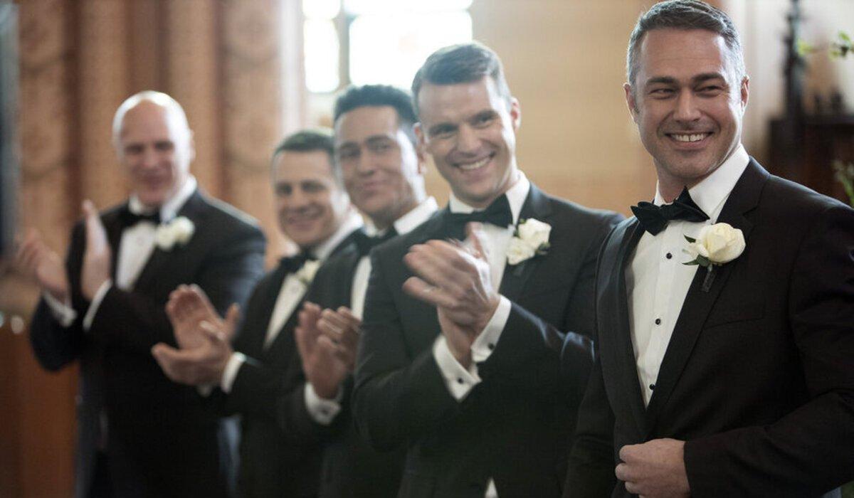 chicago fire season 8 cruz wedding casey severide clapping nbc