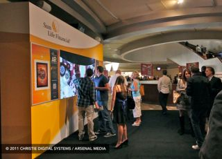 Christie's 3-Zone Presence at DSE 2012