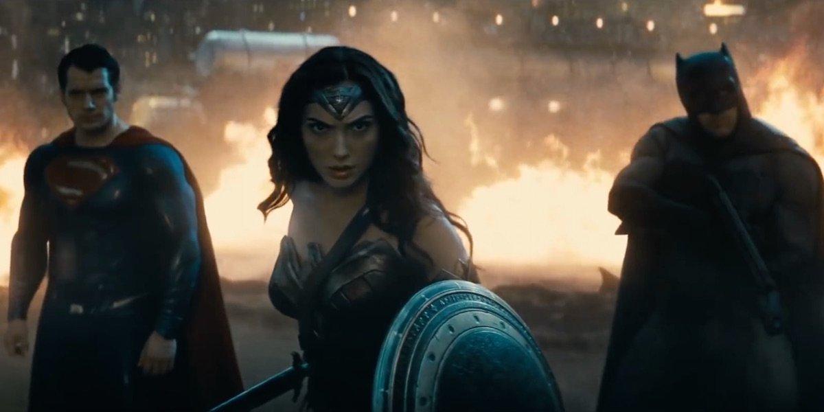 Batman v Superman: Dawn of Justice Trinity