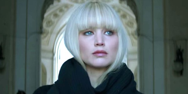 Jennifer Lawrence blonde wig in Red Sparrow