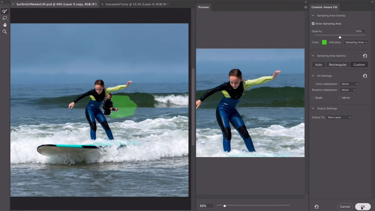 "Adobe teases ""magical"" new Content-Aware Fill tool"