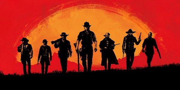 The Van der Linde Gang in Red Dead Redemption 2.