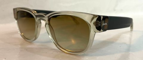 Fauna Audio Spiro Transparent Brown Sunglasses