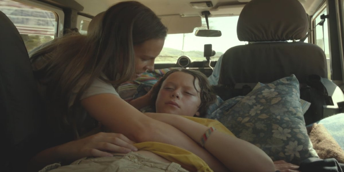 Hilary Swank and Lux Haney-Jardine in Mary and Martha