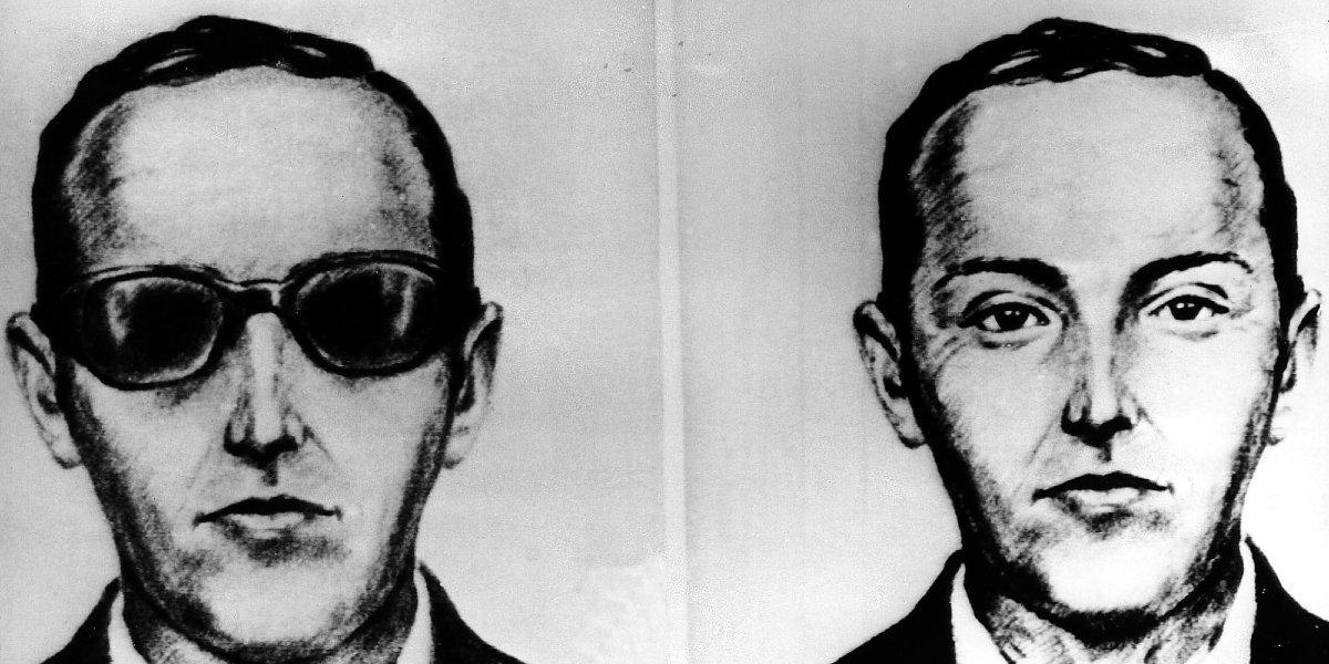 FBI Sketches of D.B. Cooper