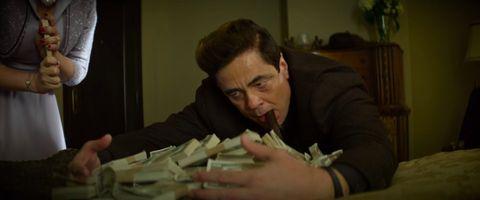 """Benicio Del Toro in """"No Sudden Move""""."""