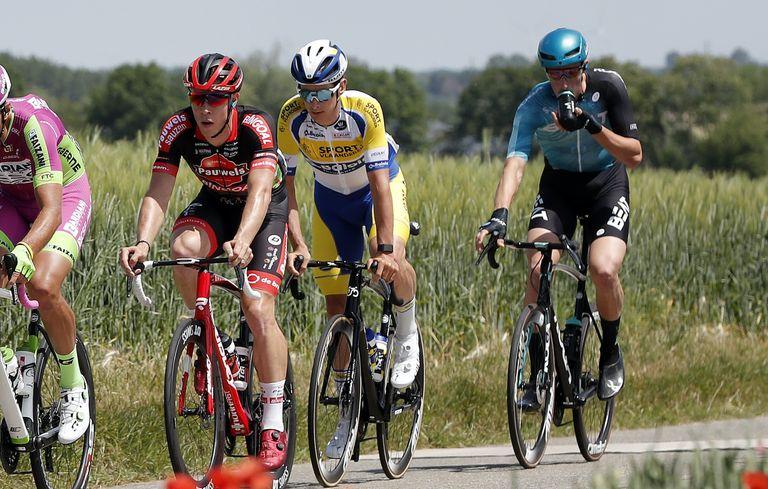Jan-Willem van Schip at the 2021 Belgium Tour stage three
