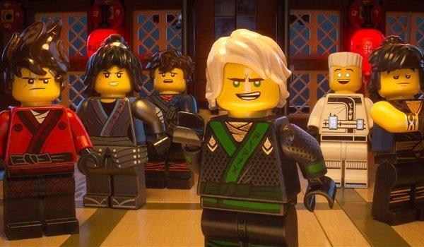 The Lego Ninjago Movie Ninjago assembled