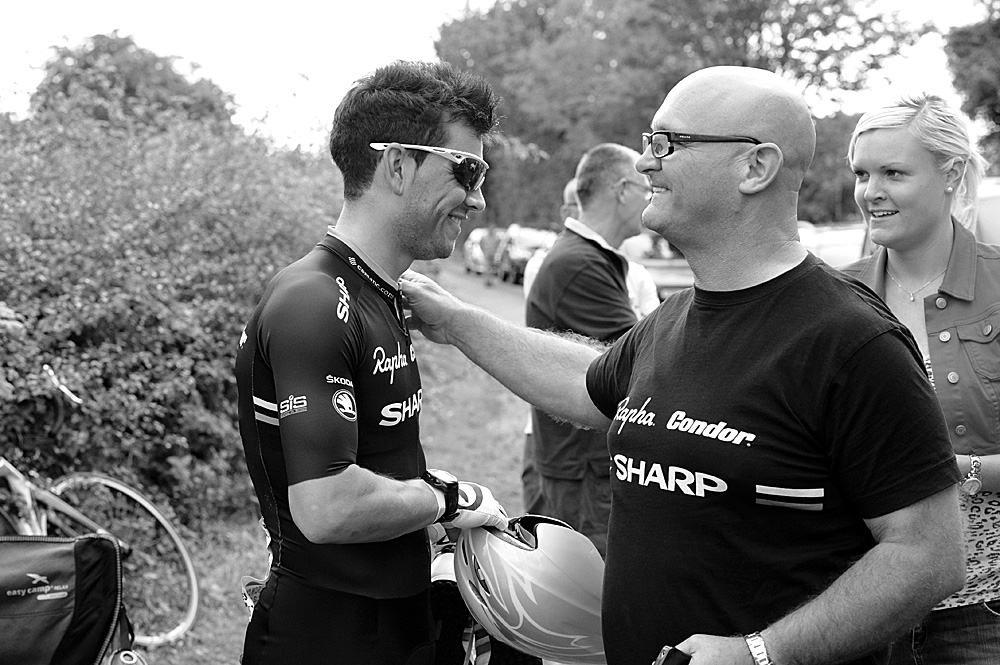 Graham Briggs and John Herety, Rossington Evening 10-mile time trial, August 2011