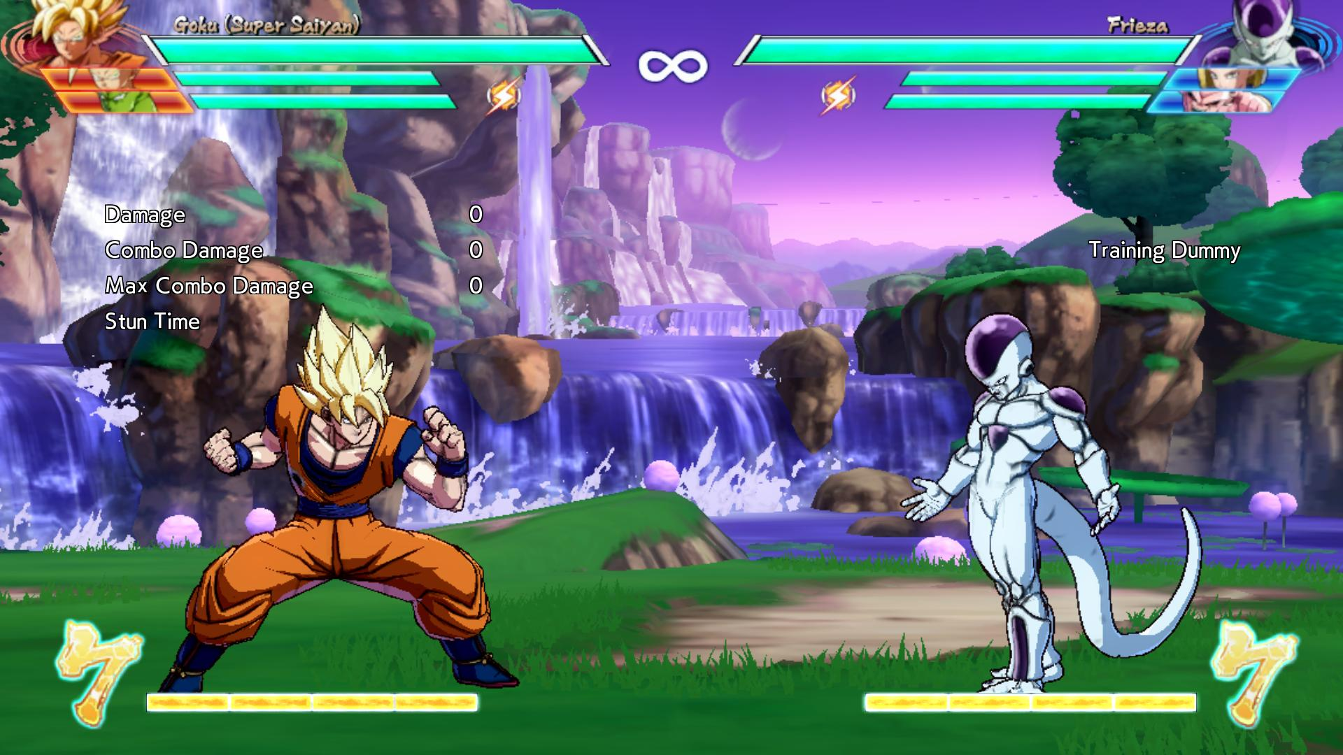 Dragon Ball FighterZ PC graphics settings, keybindings, and