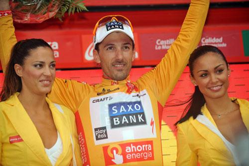Fabian Cancellara, Vuelta a Espana, stage seven ITT