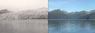 McCarty glacier, 1909/2004, climate change