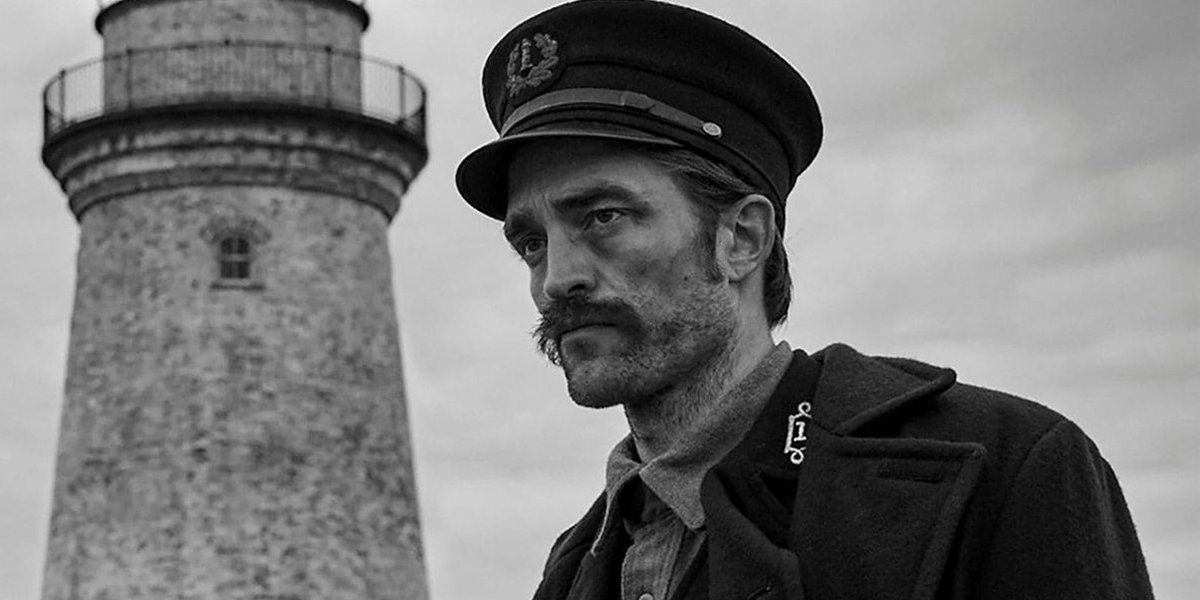 Robert Pattinson in The Lighthouse ahead of Batman